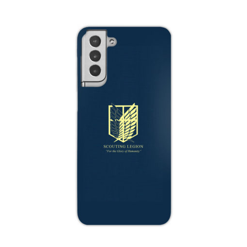 Attack on Titan Scouting Legion for Amazing Samsung Galaxy S21 Plus Case Cover