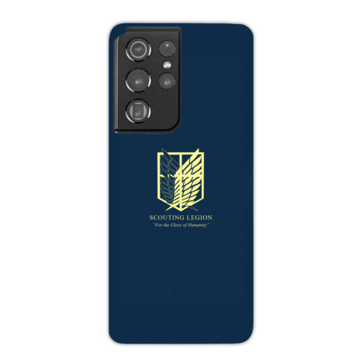 Attack on Titan Scouting Legion for Simple Samsung Galaxy S21 Ultra Case Cover