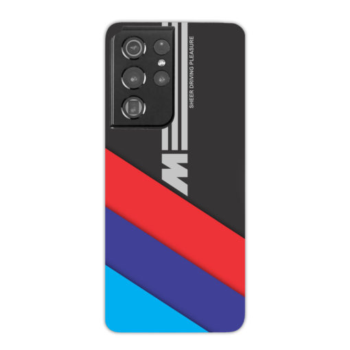BMW M Sport Sheer Driving Pleasure for Trendy Samsung Galaxy S21 Ultra Case
