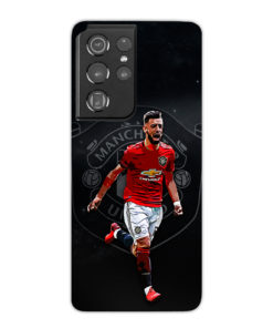 Bruno Fernandes Art MUFC for Cool Samsung Galaxy S21 Ultra Case Cover