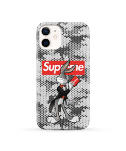 Bugs Bunny Rabbit Supreme for Cute iPhone 12 Case