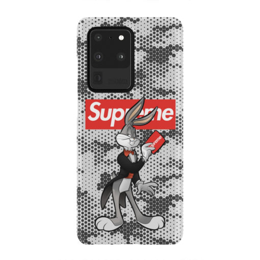 Bugs Bunny Rabbit Supreme for Trendy Samsung Galaxy S20 Ultra Case Cover