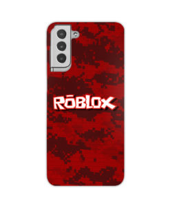 Camo Red Roblox for Cool Samsung Galaxy S21 Plus Case Cover