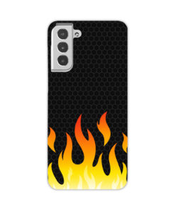 Carbon Flame for Customized Samsung Galaxy S21 Case Cover