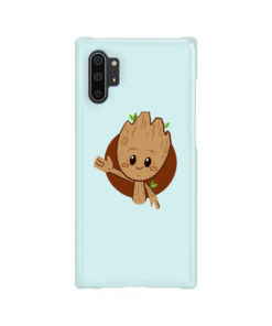 Cute Baby Groot for Best Samsung Galaxy Note 10 Plus Case