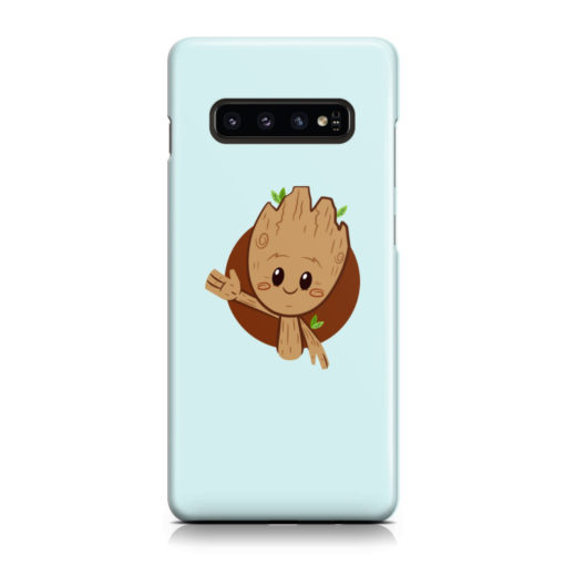 Cute Baby Groot for Best Samsung Galaxy S10 Case Cover