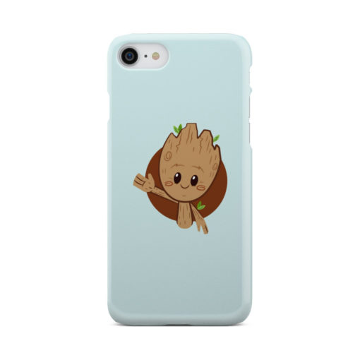Cute Baby Groot for Cute iPhone 8 Case Cover