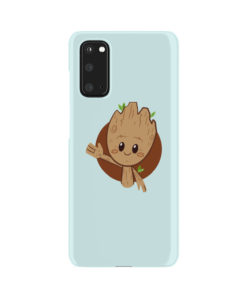 Cute Baby Groot for Cute Samsung Galaxy S20 Case