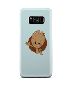 Cute Baby Groot for Cute Samsung Galaxy S8 Case Cover