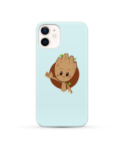 Cute Baby Groot for Nice iPhone 12 Case Cover