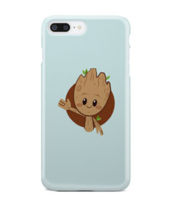 Cute Baby Groot for Personalised iPhone 8 Plus Case Cover