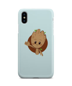 Cute Baby Groot for Personalised iPhone X / XS Case Cover