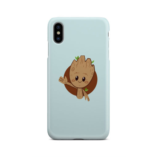 Cute Baby Groot for Simple iPhone XS Max Case