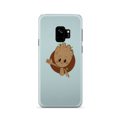Cute Baby Groot for Simple Samsung Galaxy S9 Case