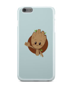 Cute Baby Groot for Stylish iPhone 6 Plus Case Cover