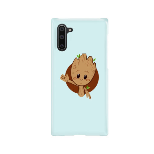 Cute Baby Groot for Stylish Samsung Galaxy Note 10 Case Cover