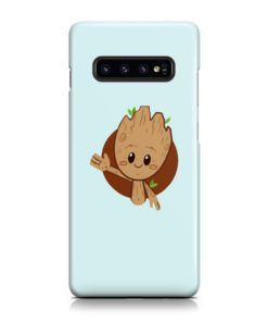 Cute Baby Groot for Trendy Samsung Galaxy S10 Plus Case Cover
