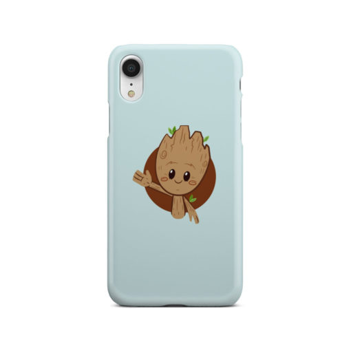 Cute Baby Groot for Unique iPhone XR Case Cover