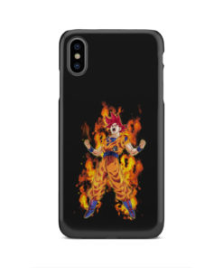 Dragon Ball Z Son Goku Super Sayan for Newest iPhone XS Max Case Cover