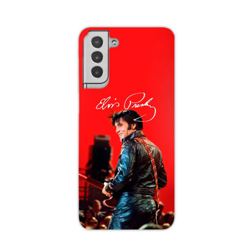 Elvis Presley Live Concert for Personalised Samsung Galaxy S21 Plus Case Cover