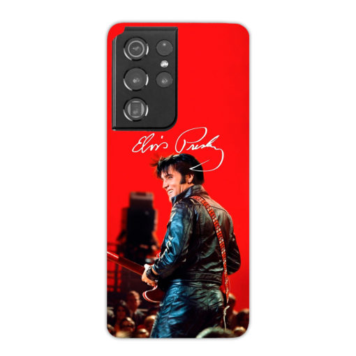Elvis Presley Live Concert for Simple Samsung Galaxy S21 Ultra Case Cover