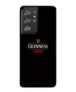 Guinness Draught Beer for Stylish Samsung Galaxy S21 Ultra Case Cover