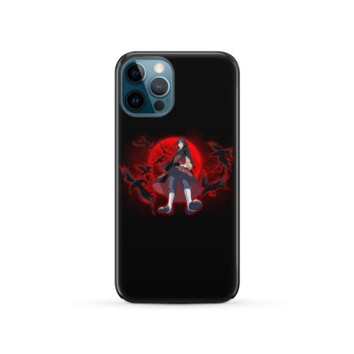 Itachi Uchiha Red Moon for Best iPhone 12 Pro Case
