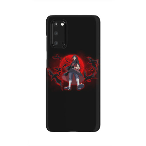 Itachi Uchiha Red Moon for Best Samsung Galaxy S20 Case Cover