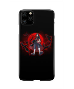 Itachi Uchiha Red Moon for Cool iPhone 11 Pro Max Case Cover