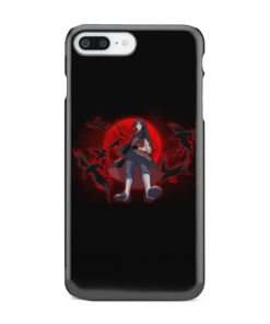 Itachi Uchiha Red Moon for Cool iPhone 8 Plus Case