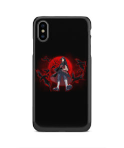 Itachi Uchiha Red Moon for Customized iPhone XS Max Case