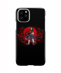 Itachi Uchiha Red Moon for Newest iPhone 11 Pro Case Cover