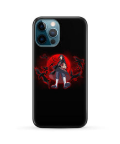 Itachi Uchiha Red Moon for Newest iPhone 12 Pro Max Case Cover