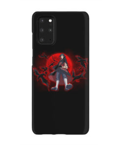 Itachi Uchiha Red Moon for Newest Samsung Galaxy S20 Plus Case Cover