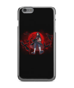 Itachi Uchiha Red Moon for Personalised iPhone 6 Plus Case Cover
