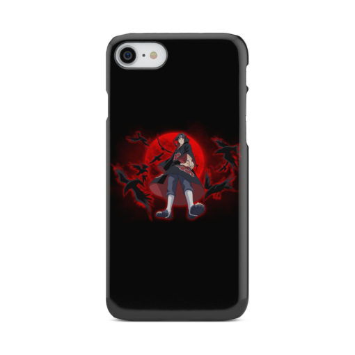 Itachi Uchiha Red Moon for Simple iPhone 8 Case