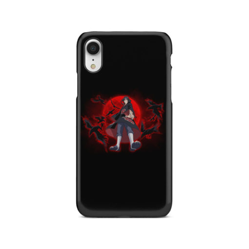 Itachi Uchiha Red Moon for Simple iPhone XR Case Cover