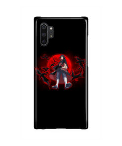 Itachi Uchiha Red Moon for Simple Samsung Galaxy Note 10 Plus Case Cover