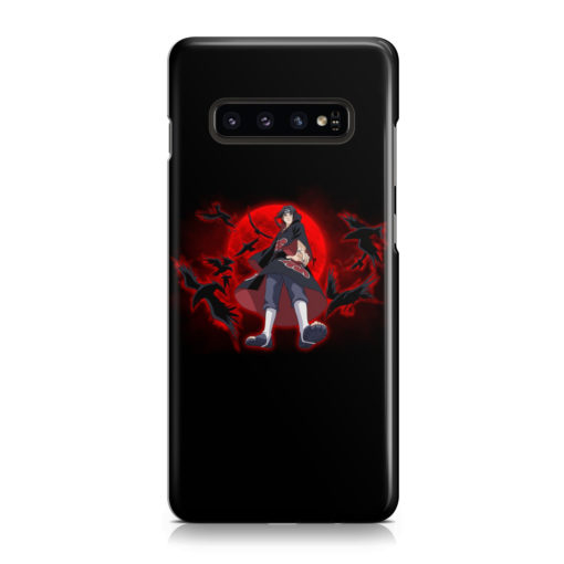 Itachi Uchiha Red Moon for Simple Samsung Galaxy S10 Plus Case
