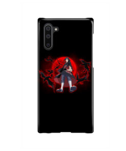 Itachi Uchiha Red Moon for Trendy Samsung Galaxy Note 10 Case