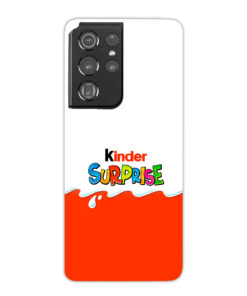 Kinder Surprise Egg for Best Samsung Galaxy S21 Ultra Case Cover