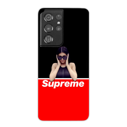 Kylie Jenner Supreme for Beautiful Samsung Galaxy S21 Ultra Case Cover