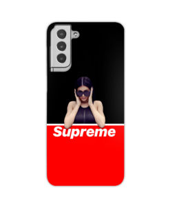 Kylie Jenner Supreme for Custom Samsung Galaxy S21 Plus Case Cover