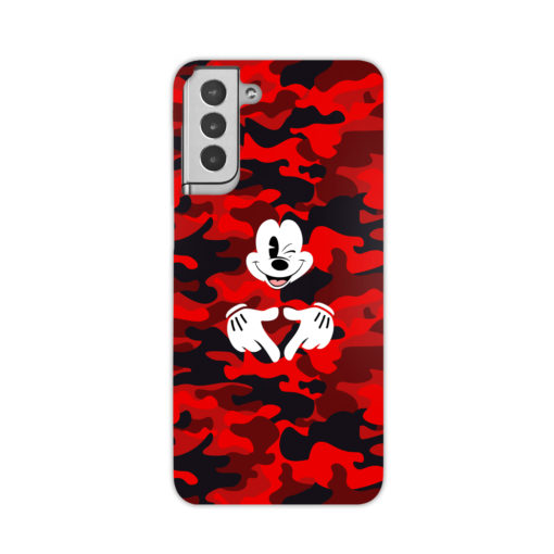 Mickey Mouse Camouflage for Beautiful Samsung Galaxy S21 Plus Case Cover