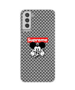 Mickey Mouse Gangster Supreme for Amazing Samsung Galaxy S21 Plus Case Cover