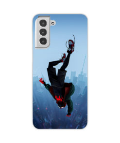 Miles Morales Jump for Newest Samsung Galaxy S21 Case Cover