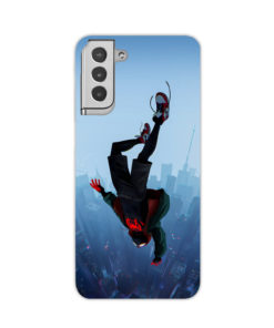 Miles Morales Jump for Stylish Samsung Galaxy S21 Plus Case