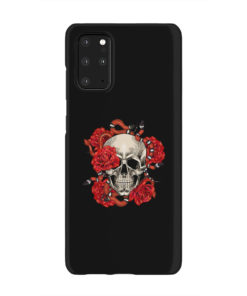 Red Rose Skull for Beautiful Samsung Galaxy S20 Plus Case