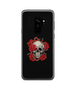 Red Rose Skull for Beautiful Samsung Galaxy S9 Plus Case Cover
