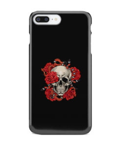 Red Rose Skull for Best iPhone 7 Plus Case Cover